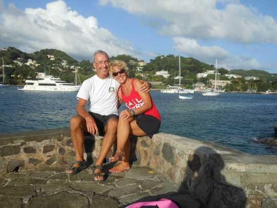 Christmas morning Bequia
